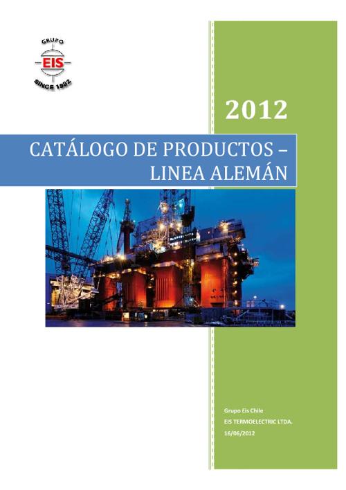 Catalogo de Productos Linea Aleman
