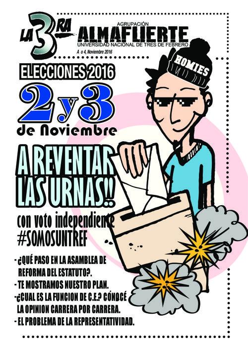 La 3ra OCTUBRE/NOVIEMBRE 2016