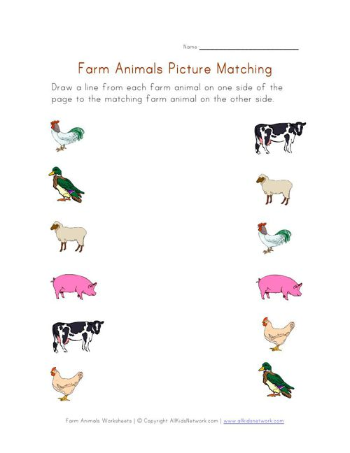 Farm_Animals_Picture_Matching