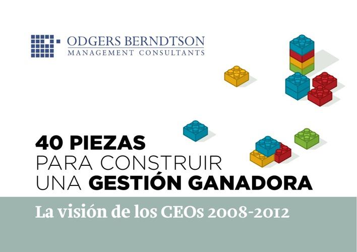 40 PIEZAS PARA CONSTRUIR UNA GESTION GANADORA