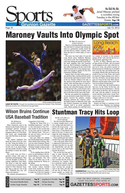 Gazette Sports | July 12, 2012