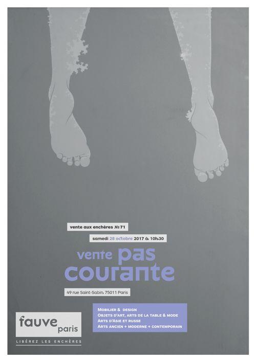 FauveParis   Vente pas courante   28 octobre 2017