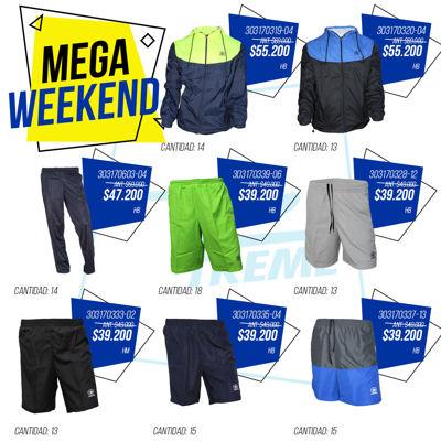 Mega weekend