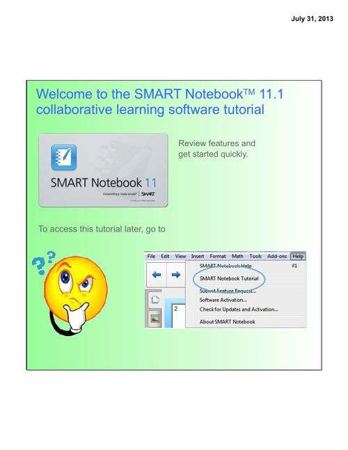 Smart Board Training