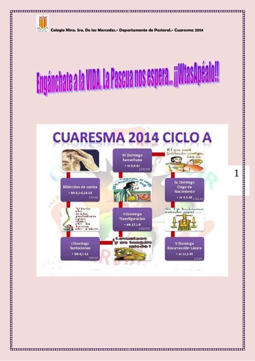 CUARESMA 14