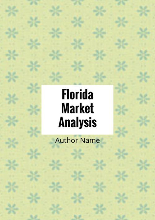 Florida's Market Analysis