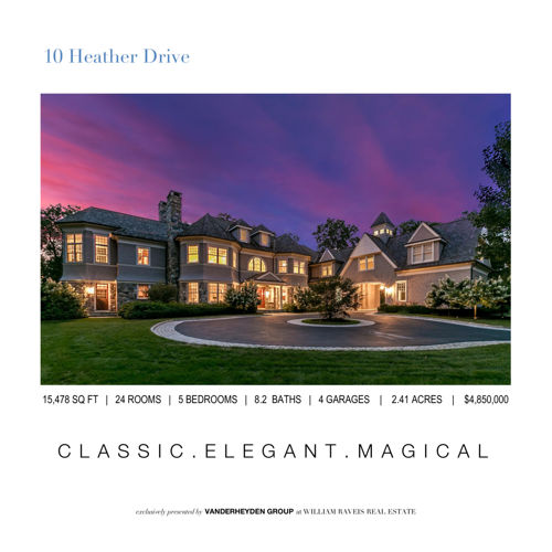 New Canaan Real Estate For Sale | 10 HEATHER DRIVE