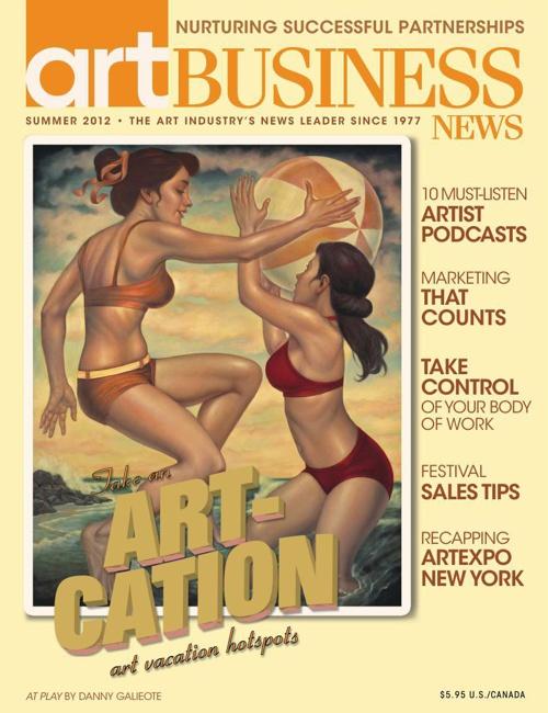 ABN Summer 2012 Issue: Art Vacation Hotspots