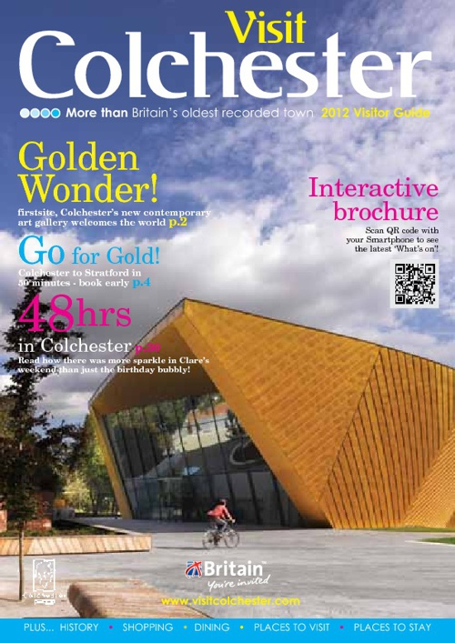 Colchester Visitor Guide 2012