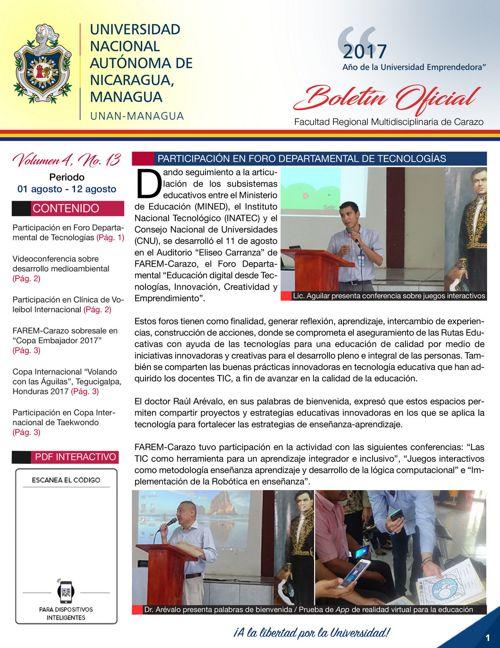 Boletin Volumen 4 - No.13
