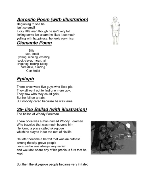 Poems: Billy Prestage