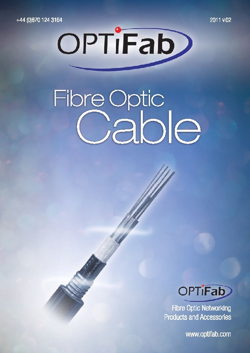 OPTiFab Fibre Optic Cable Catalogue