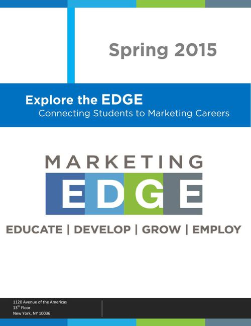 Marketing EDGE | Student Newsletter | Spring 2015