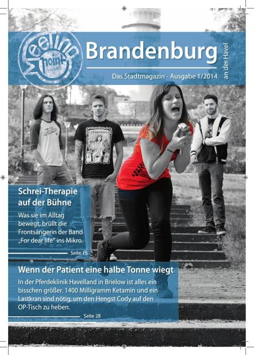 Stadtmagazin Meetingpoint - Ausgabe 1/2014
