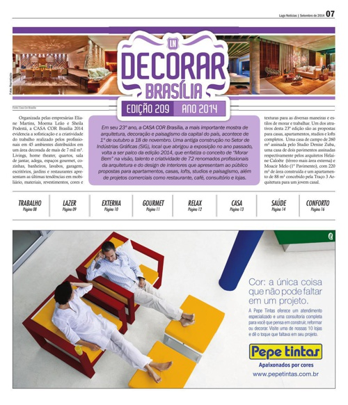 decorar brasilia 2014