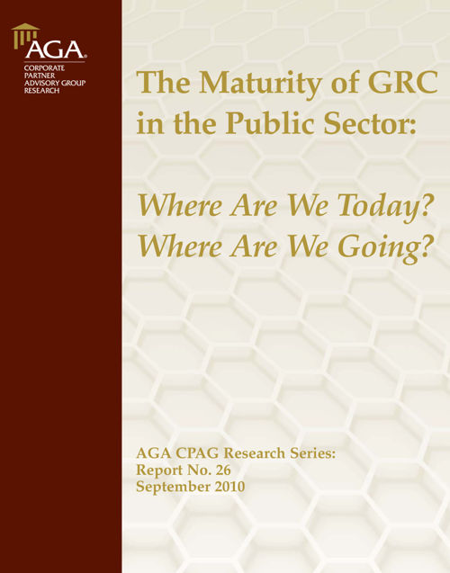 GRC maturity Sept 2010