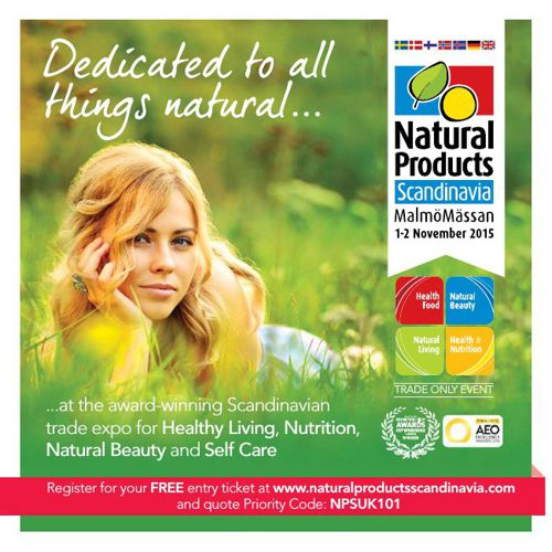 Natural Products Scandinavia Visitor Brochure