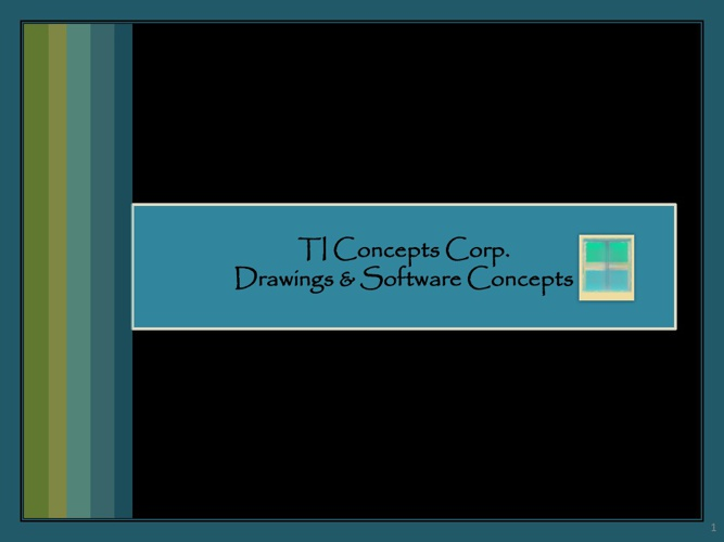 Copy of TI Concepts: Software & Drawing Concepts