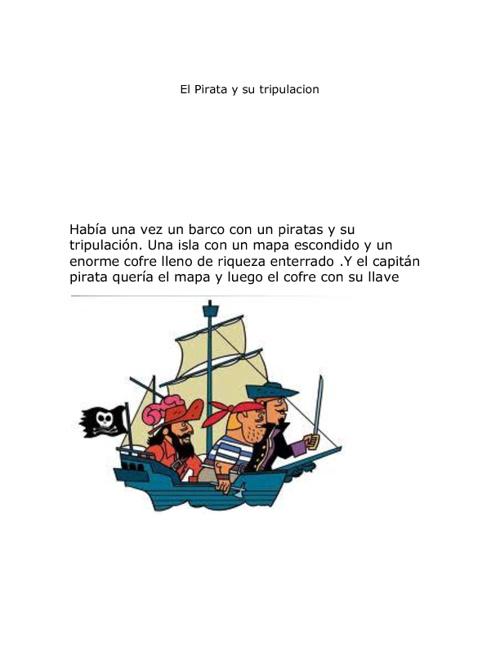 el pirata y su tripulacion