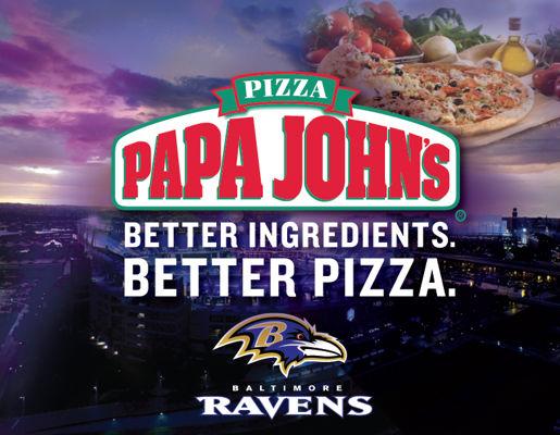 Papa Johns Ravens