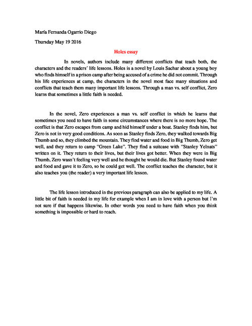 Essays About Faith Position Paper By Marifero Flipsnack Holes Essay Holes By Louis Sachar  Pearltrees The Highwayman Essay also Essay On The Holocaust Holes Essay Position Paper By Marifero Flipsnack Holes By Louis  Literature Essays