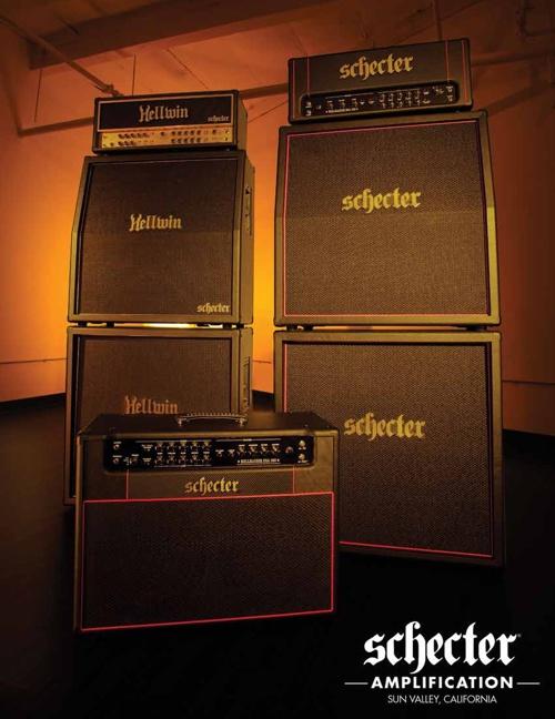 2013 SCHECTER AMP CATALOG