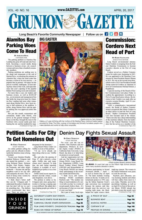 Grunion Gazette  |  April 20, 2017