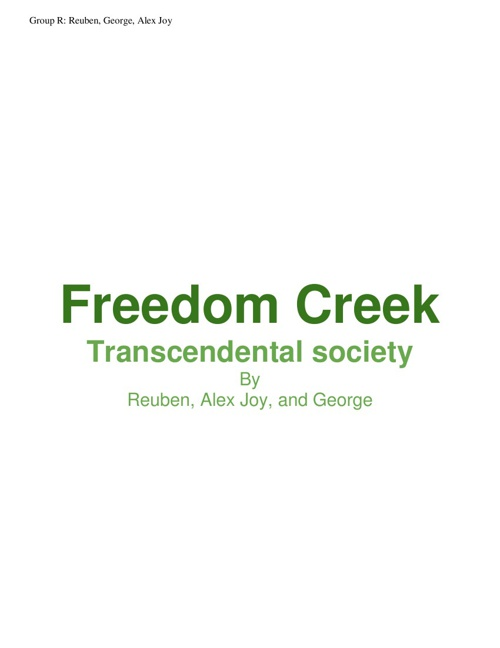 Freedom Creek
