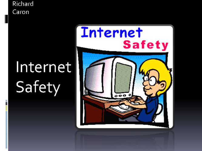 G8 Internet Safety Richard Caron