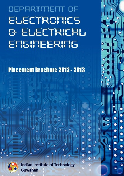 Placement Brochure, EEE, IIT Guwahati