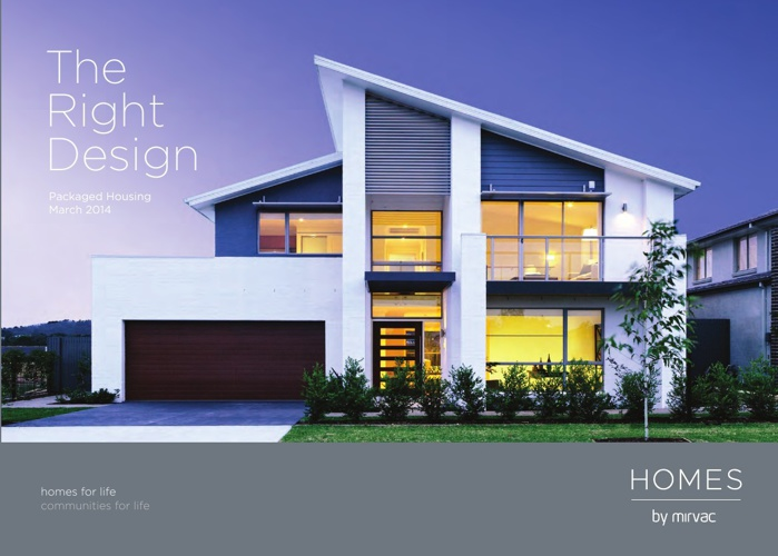 The Right Design- Homes by Mirvac