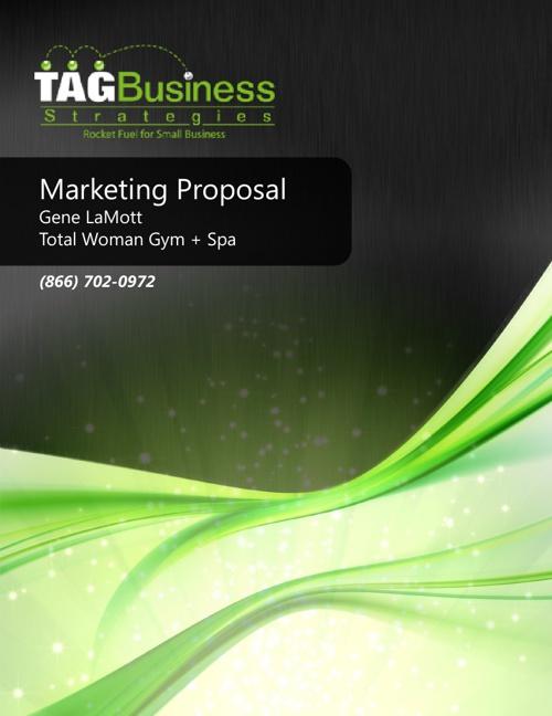 Total Woman Gym + Spa Marketing Proposal