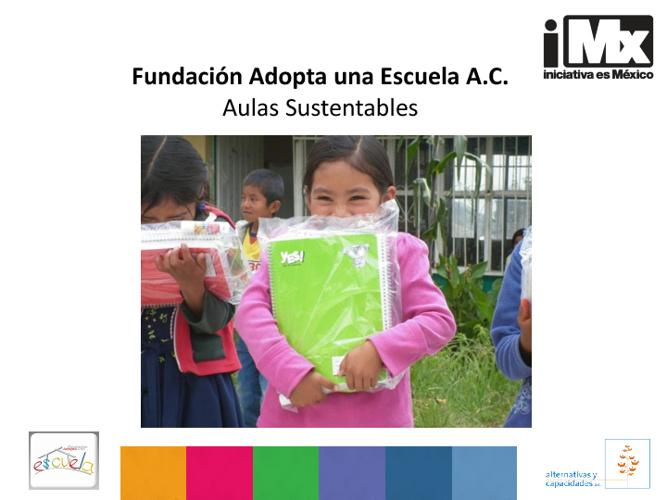 Fundación Adopta una Escuela A.C.