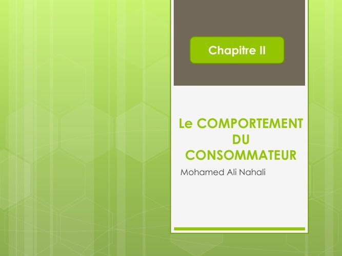 Le comportement du consommateur: L'utilité et les préférences