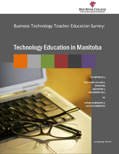 Technology Education in Manitoba