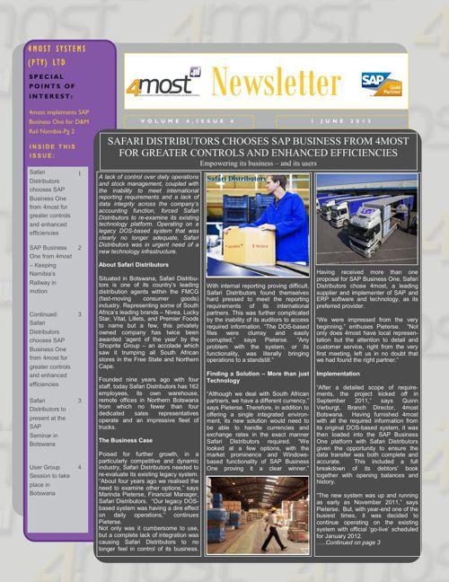 4most Newsletter June 2015