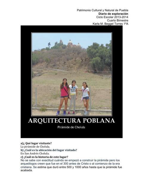 Diario de Exploración Bim 4