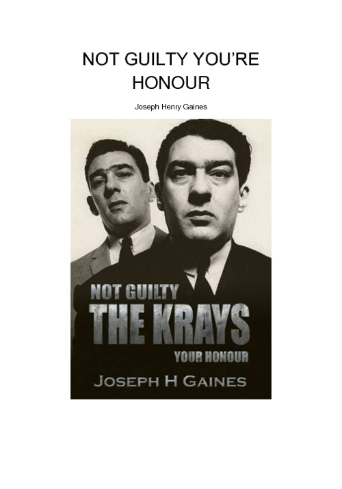 Krays Not Guilty (Chapter 1)