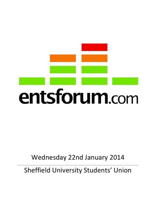 Ents Forum Delegate Pack 2014