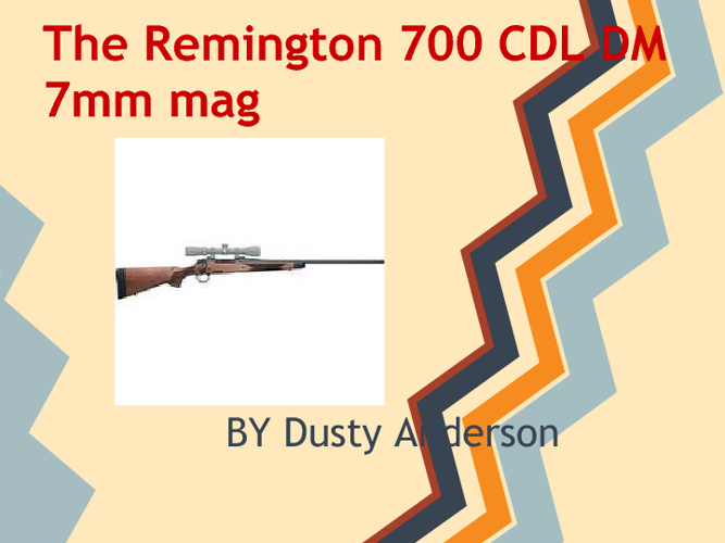 Remington 700 CDL DM 7MM REM MAG