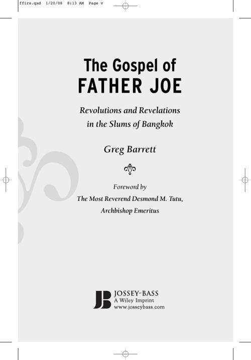 The Gospel of Father Joe excerpt