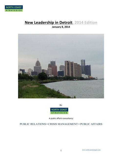 New Leadership in Detroit, 2014 Edition
