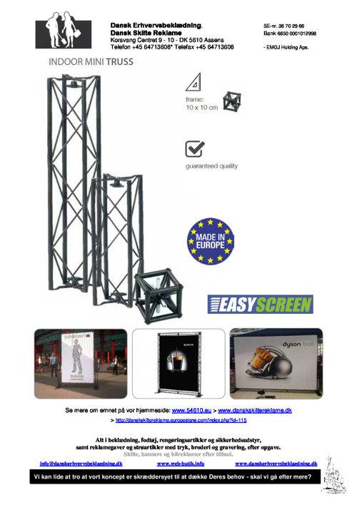 228 Easy - Mini Truss-system - inside 16