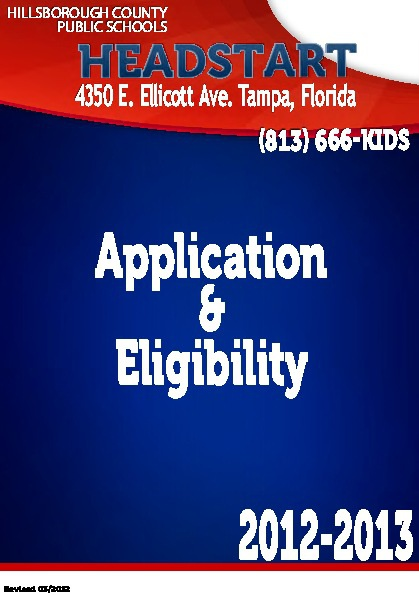Application Process Booklet
