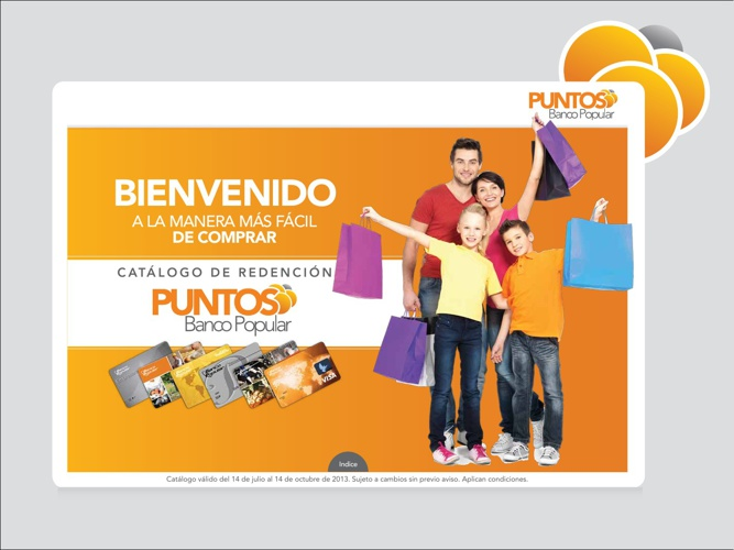 Catalogo de Redención - Puntos Banco Popular