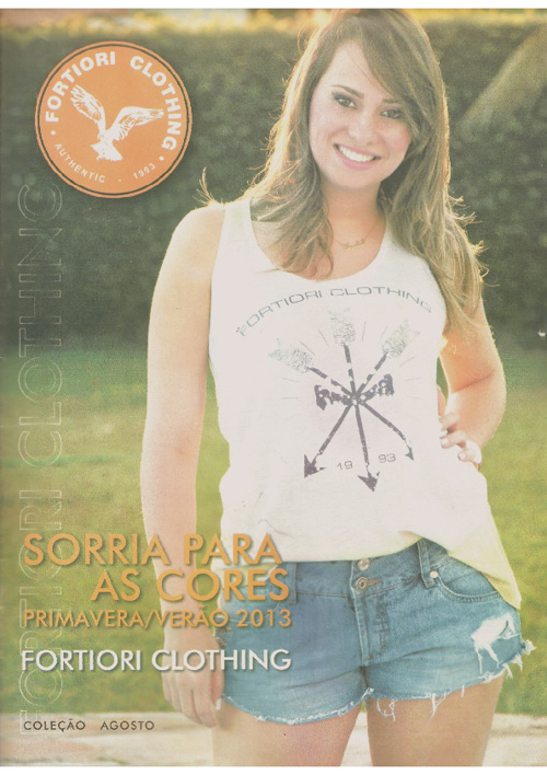 Catálogo Fortiori Clothing Agosto/2012