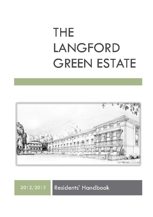 EXAMPLE Langford Green Handbook