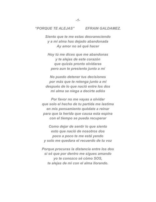 ALIENTO ROMANTICO-POESIA NACIENTE. EFRAIN GALDAMEZ NIETO.