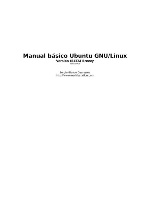 MANUAL BASICO DE UBUNTU GNU-LINUX