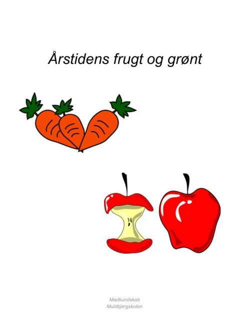 Årstidens frugt og grønt kompendium